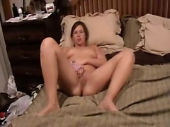Young couple makes homemade hardcore porn with her bald pussy taking a pounding